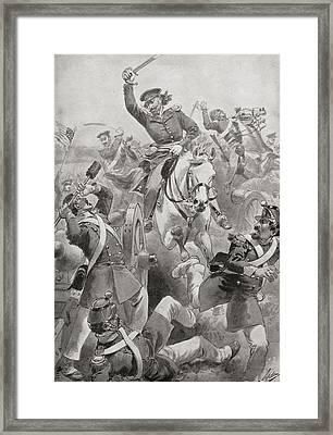 Battle Of Resaca De La Palma, Near Framed Print by Vintage Design Pics