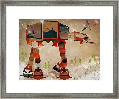 Battle Ready Framed Print by Bri B
