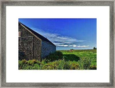 Bay Du Vin Framed Print by Levin Rodriguez