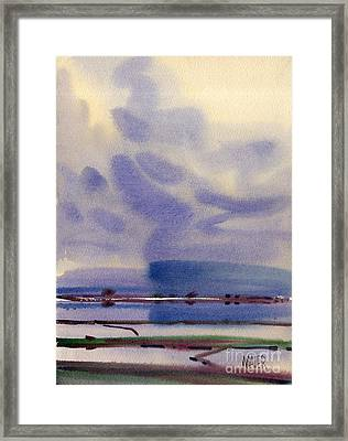 Bay Reflections Framed Print by Donald Maier
