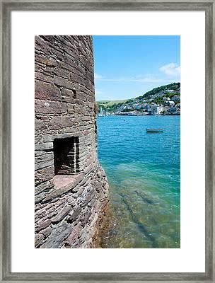 Bayards Cove Fort Framed Print by Helen Northcott