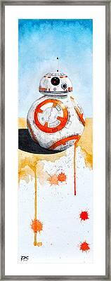 BB8 Framed Print by David Kraig