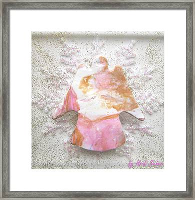 Be Courageous And Determined Framed Print by Heidi Sieber