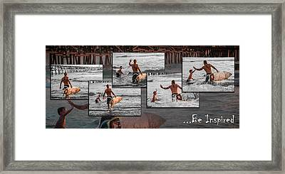 Be Inspired - Pano Framed Print by Scott Campbell