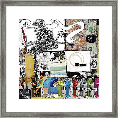 Be Kind Rewind Framed Print by Trevor Davy