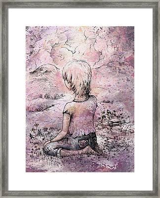 Be Still Framed Print by Rachel Christine Nowicki