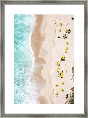 Be Unique Framed Print by Diego Baravelli