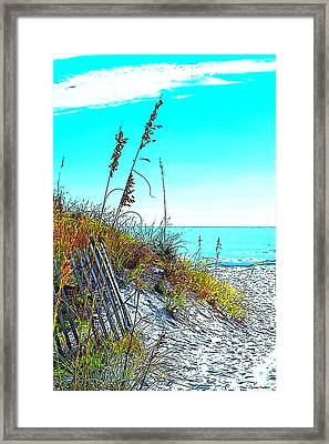 Beach 01 Framed Print by James Fowler
