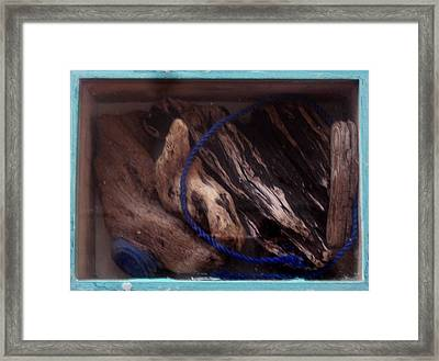 Beach Box II Framed Print by Adam Kissel