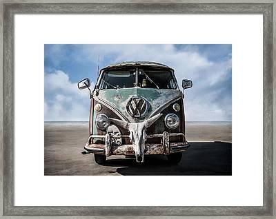 Beach Bum Framed Print by Douglas Pittman