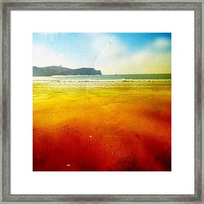 Beach Framed Print by Contemporary Art