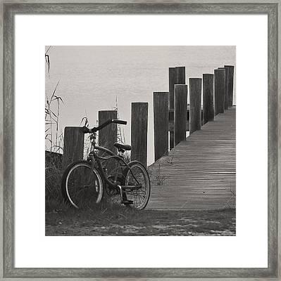 Beach Cruiser Framed Print by Robert Meanor
