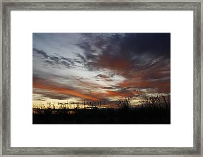 Beach Dawn Framed Print by Christopher Kirby