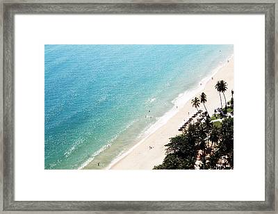 Beach Framed Print by Fine Arts