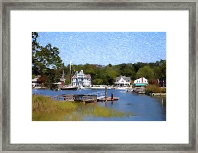 Beach Homes Framed Print by Gary Grayson