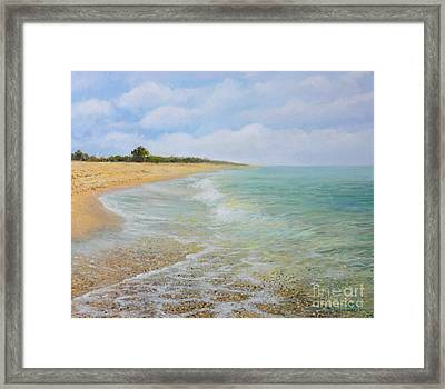 Beach Krapets Framed Print by Kiril Stanchev