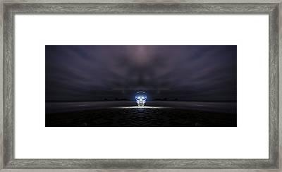 Beach Light Framed Print by Pelo Blanco Photo