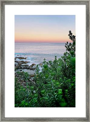 Beach Retreat Framed Print by Az Jackson