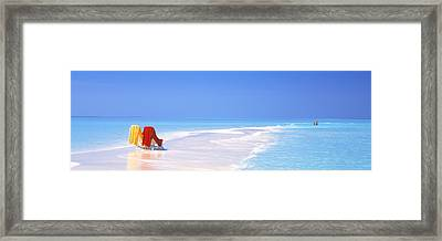 Beach Scenic The Maldives Framed Print by Panoramic Images