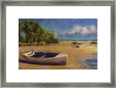 Beached Framed Print by David Patterson