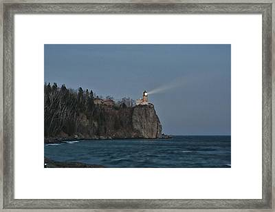 Beacon Lighting Framed Print by Laurie Prentice