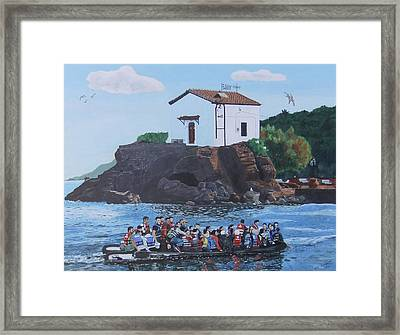Beacon Of Hope Framed Print by Eric Kempson