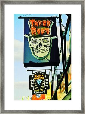 Beale St. 1 Framed Print by Jame Hayes