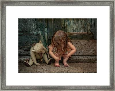 Bear Feet Framed Print by Robin-lee Vieira