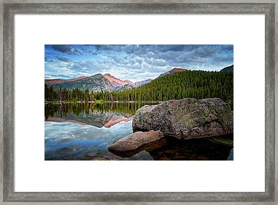 Bear Lake Rocky Mountain National Park 3172  Framed Print by Ken Brodeur