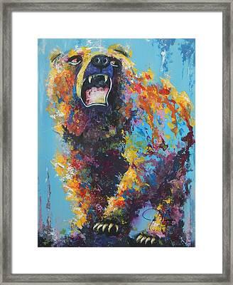 Bear Market C Framed Print by John Henne