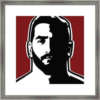 Bearded Framed Print by Chris Lopez