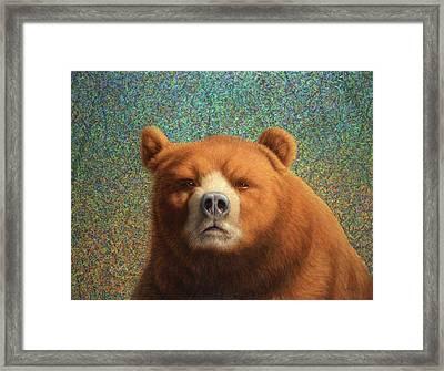 Bearish Framed Print by James W Johnson