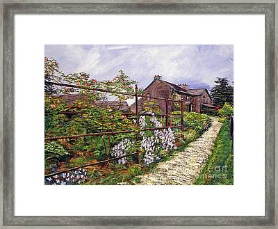 Beatrix Potter House Framed Print by David Lloyd Glover