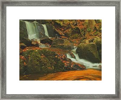 Beautiful Autumn Scene Framed Print by Dan Sproul