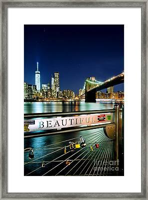 Beautiful Framed Print by Az Jackson