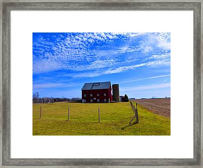 Beautiful Day Framed Print by Tina M Wenger