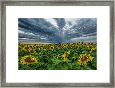 Beautiful Disaster  Framed Print by Aaron J Groen