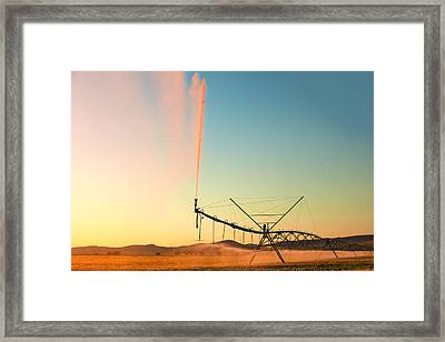 Beautiful Irrigation Framed Print by Todd Klassy