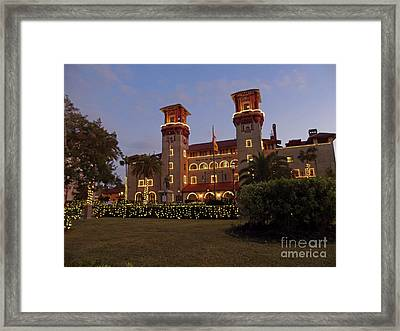 Beautiful Night Of Lights Framed Print by D Hackett
