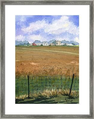 Beautiful Ohio Framed Print by Marsha Elliott