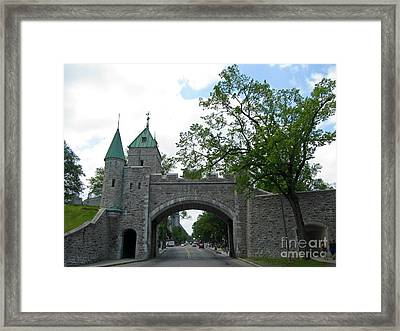 Beautiful Stone Gateway Framed Print by John Malone