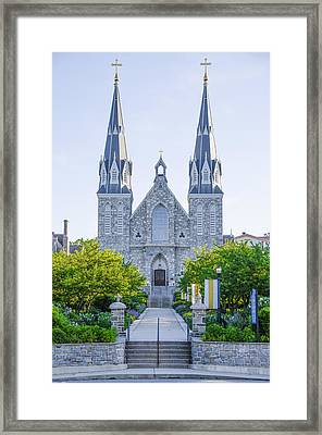 Beautiful Villanova Cathedral Framed Print by Bill Cannon