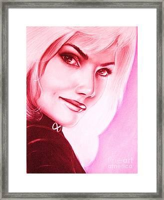 Beauty Framed Print by Anastasis  Anastasi