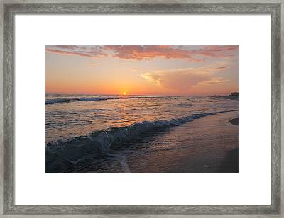 Beauty Before The Sun Framed Print by Jessica Pate