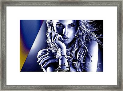 Beauty Captured Collection Framed Print by Marvin Blaine
