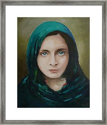 Beauty Framed Print by Diko