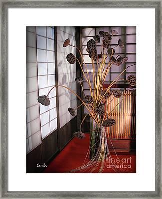 Beauty In Death Framed Print by Eena Bo