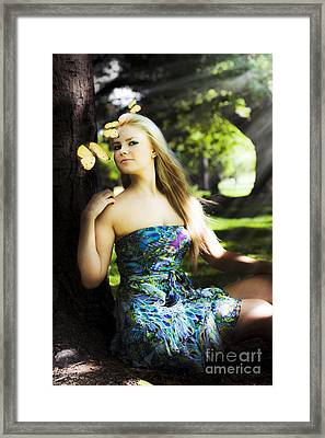 Beauty In Nature Framed Print by Jorgo Photography - Wall Art Gallery