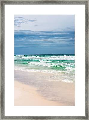 Beauty In The Ocean Framed Print by Shelby Young