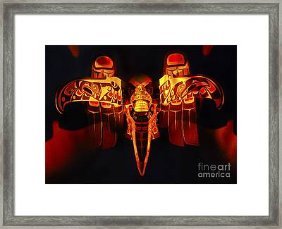 Beauty Of Masks Canada Framed Print by Bob Christopher